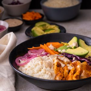 Instant Pot Middle Eastern-Inspired Rice Bowl